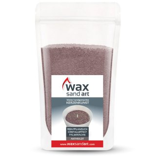 WaxSandArt 250 gram anthracite scented with scented with...