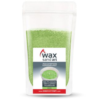 WaxSandArt 250 gram green scented with herbs - including...