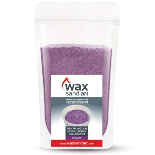 WaxSandArt 250 gram violet scented with orchid -...